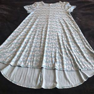 Lularoe Geometric Seafoam Dress
